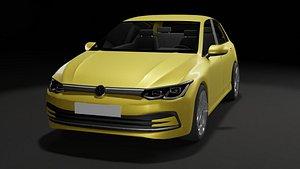 3D model car automobile auto