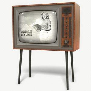 vintage tv model