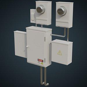 Utility Box 2A 3D