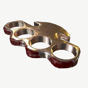 3D model metal punch ring