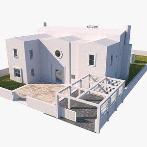 Modern Villa Michael Graves 3D
