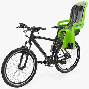3D model Bike with Child Safety Seat