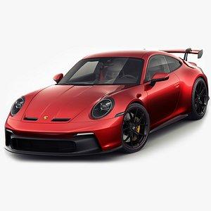 Porsche 911 GT3 992 2022 3D