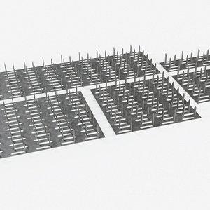 Gusset Plates model