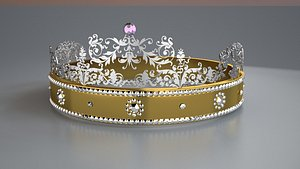 Crown 3D Model 3D model