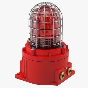 warning lamp model