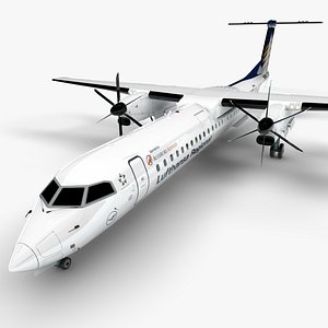 LUFTHANSA REGIONAL Bombardier DHC-8 Q400 Dash 8 L1499 model
