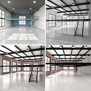 3D model Industrial Loft Collection 2