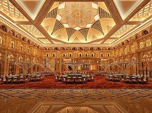 3D Casino banquet hall, wedding banquet hall, casino restaurant, indoor gambling hall, wedding banquet, model
