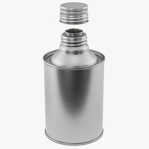 bottle metal 3D model