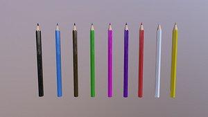 Color Pencils model