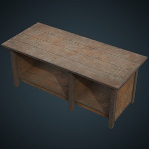 3D workbench 3b model