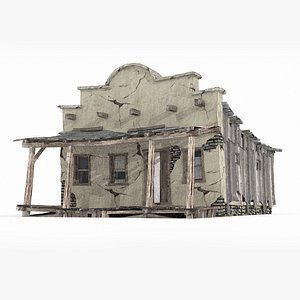 western style dwelling 3D