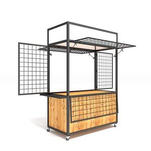 3D sale cart