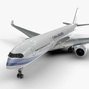 a350-900 china airlines l1120 3D model