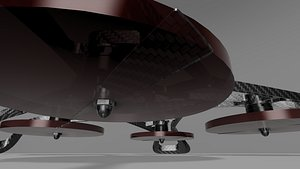 3D chassis drones model
