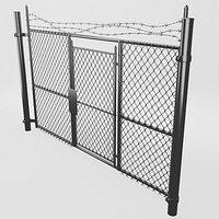 Alleyway Fence