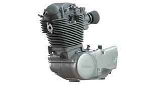 3D EngineYamaha SR 500