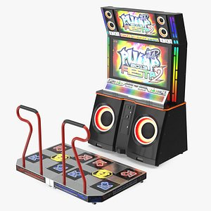 Pump It Up Fiesta 2 Arcade Dance Machine 3D