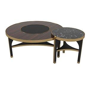 frato memphis set coffee tables 3D