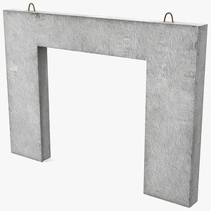 3D prefabricated concrete panel