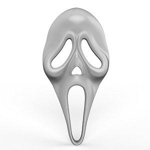 mask scream model