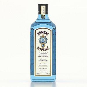 3D Gin Bombay Sapphire