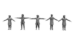 village kings man collection 3D