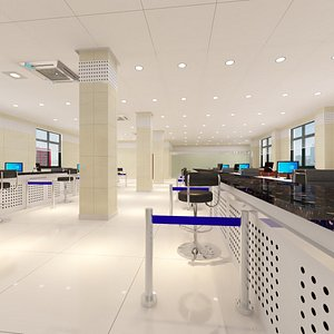 Client Service Hall model