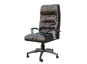 Chair Office Leather 3D model