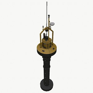 PB3 Power Buoy 3D model