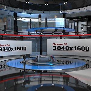 Virtual Studio Set 680 3D