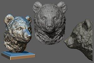 Bear cub 3D model