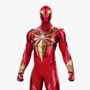 FanArt IronSpider Classic Suit Ps4 3D model
