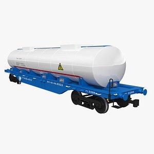 3D Railroad Car Tank
