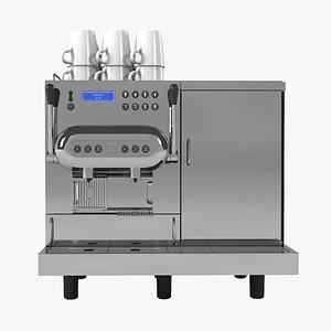 nespresso aguila coffeemaker 3D model