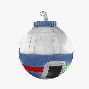 toy bomb 3D model