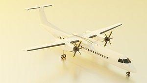 bombardier q400 3D