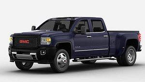 GMC Sierra Truck 3d Model 3D