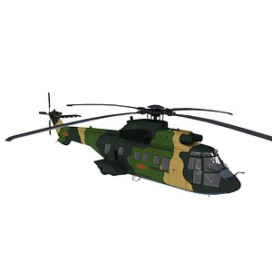 aircraft helicopter 3D model