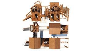 3D model slide architecture