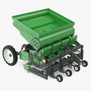 Miedema Structural 4000 Potato Planter Green model