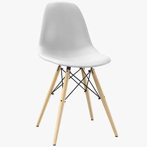 real modern chair 3D