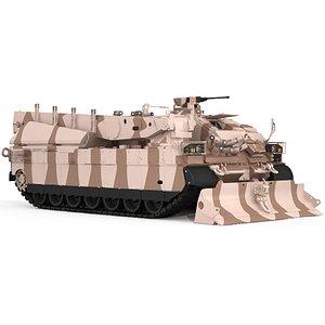 3D AMX  DCL  sand camuflag no interior
