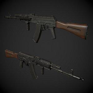 AK-74 Rifle 3D model