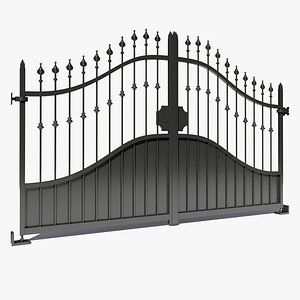 3D model wrought iron