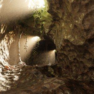 cave model