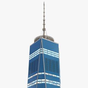 3D Freedom Tower Night Glow