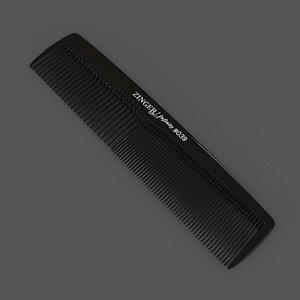3D model Comb Zinger Infinity N-039