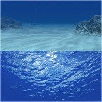 Underwater Scene Animated